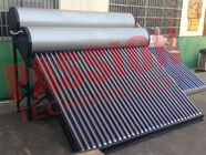 Food Grade Vacuum Tube Solar Water Heater Portable Dengan Painted Steel Shell