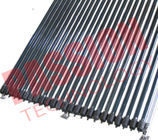 45 Degree Heat Pipe Solar Collector With Stainless Bolts Silver Manifold Color