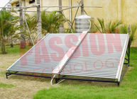 Multi Function Solar Hot Water Collector Stainless Steel Double - Side Manifold