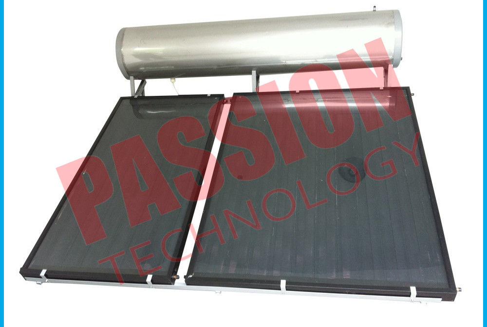 6 Bar Stainless Steel Solar Water Heater Flat Plate Collector No Pollution
